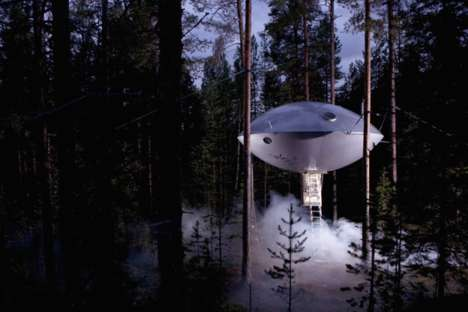 Exclusive Tree Hotels - This Swedish Hotel Lets Guests Sleep Amongst the Trees