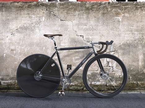 Modern Vintage Bikes - The 'Solo' Concept Bike Boasts Interchangeable Wheels