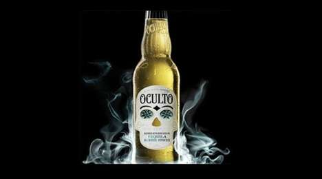 Pressure-Sensitive Beer Labels - Oculto Beer's Labels Feature Color-Changing Thermostatic Ink