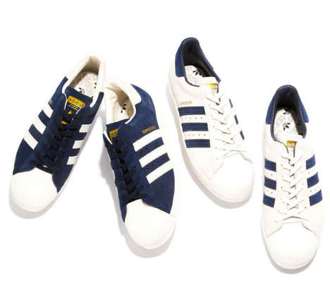 Superstar Anniversary Sneakers - These Suede adidas Originals Superstar Sneakers are Limited Edition
