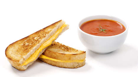 Tomato Grilled Cheese Balls - Dude Foods Fuses Together Grilled Cheese Sandwiches With Tomato Soup