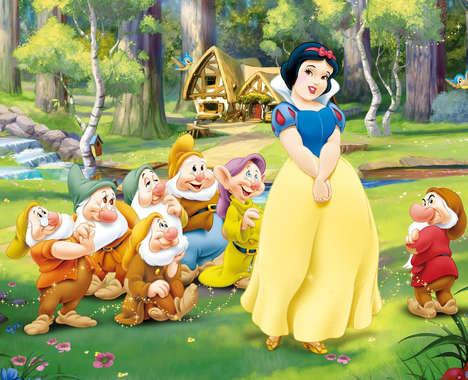 Full-Figured Disney Princesses