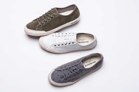 Sleek Wool Sneakers - These Cozy Kicks are Perfect for Cooler Temperatures