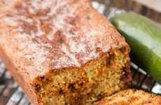 Cinnamon Veggie Loafs - This Homemade Zucchini Bread is Inspired by the Snickerdoodle Cookie