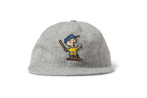 Nostalgic Cartoon Hats - These Hats Feature Peanuts-Inspired Images of Charlie Brown and Snoopy
