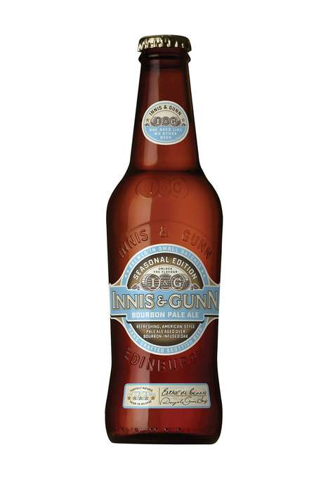 Bourbon-Brewed Beers - The Latest Addition to Innis and Gunn is the Seasonal Bourbon Pale Ale