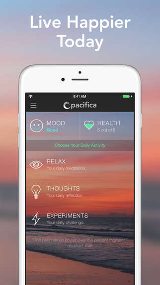 Anxiety-Alleviating Apps - This App Pushes Users to Carry Out Stress-Reducing Activities