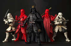 Intergalactic Samurai Toys - These Star Wars Samurai Figurines Are Based on Sci-Fi Characters