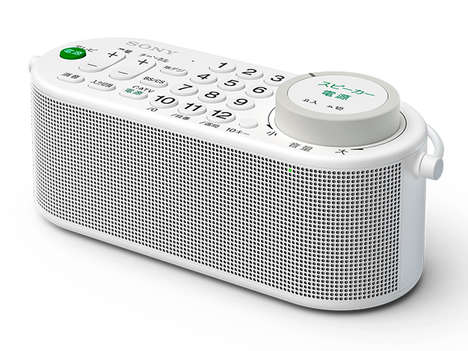 Wandering TV Speakers - This Sony Portable Speaker Doubles as a Remote Control