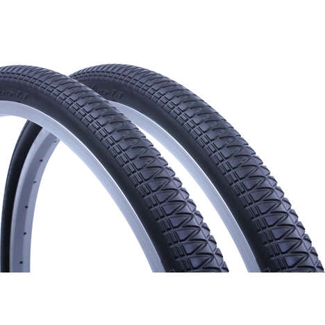 Permanently Inflated Tires - The Tannus Solid Bicycle Tires are Designed to Never Fall Flat