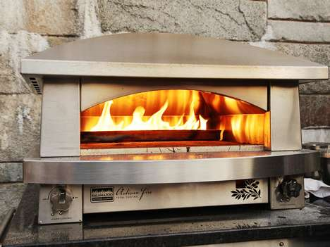 Opulent Outdoor Ovens - The Kalamazoo Gourmet Pizza Oven Comes with a $7,000 Price Tag