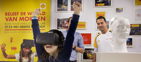 Pop-Up Eco-Energy Labs - The Shell Eco-Marathon Experience Took Place in Rotterdam