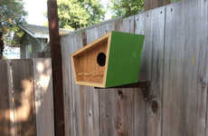 Mid-Century Contemporary Birdhouses