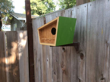 Mid-Century Contemporary Birdhouses - These Modern Birdhouse Designs Add Style to the Outdoors