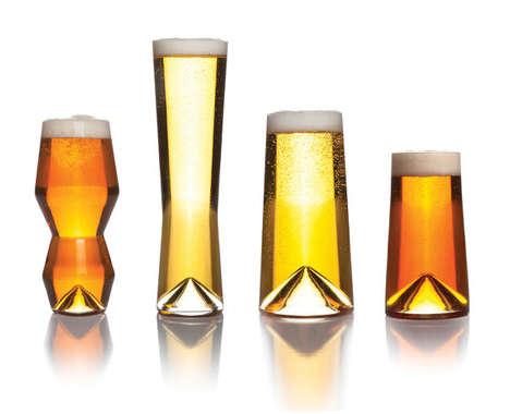 Flavor-Enhancing Beer Glasses