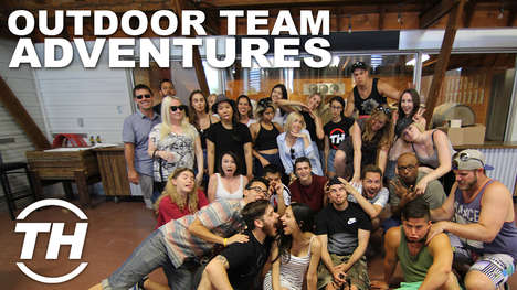 Outdoor Team Adventures - Trend Hunter Visited an Eco Retreat for Fun Team-Building Activities