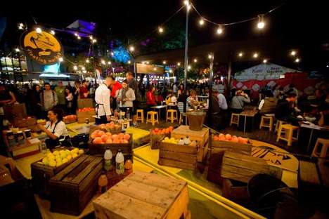 Floating Market Soda Pop-Ups - The Schweppes Floating Market Has Set Its Sails in Australia
