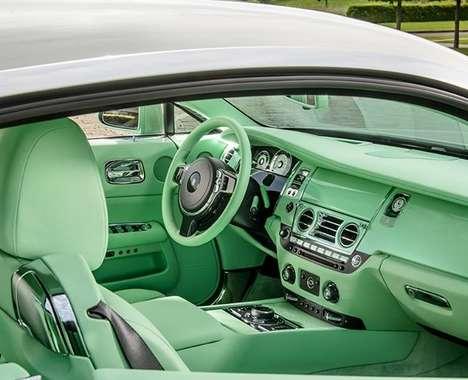 Aquatic-Colored Car Interiors
