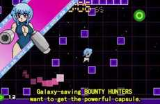 80s-Inspired Video Games - The Capsule Force Game is a Retro Amine-Themed Multi-Player Video Game