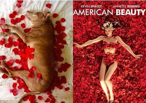Pooch-Posing Movie Posters - These Playful Dog Posters Feature Recreated Versions of Iconic Movies