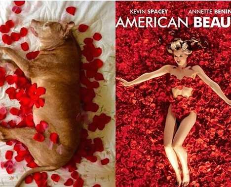 Pooch-Posing Movie Posters