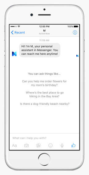 Message-Based Virtual Assistants - This Messaging App is the Facebook Siri Equivalent
