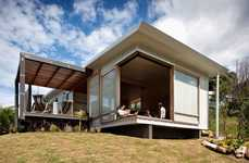 Compact Eco Homes - This Small House Features a Carbon Footprint of 100 Square-Meters