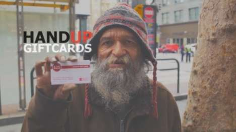 Philanthropic Gift Cards - These Gift Cards are an Innovative Way to Give to the Homeless