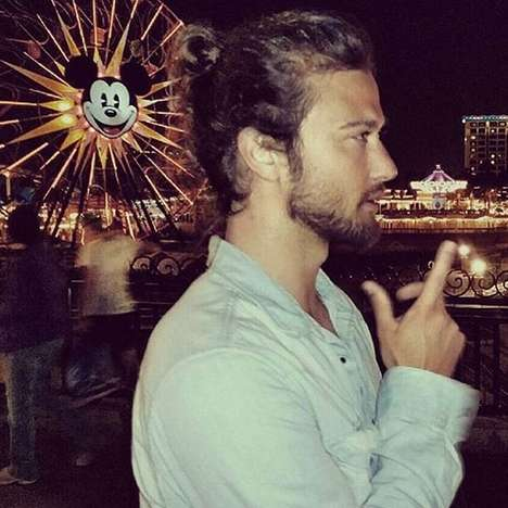 Disney Man Bun Feeds - The Instagram Account Man Buns of Disneyland is Exactly What It Sounds Like
