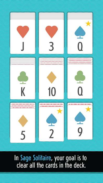 Addictive Smartphone Card Games - Sage is the New Solitaire Specially Designed for Smartphone Play