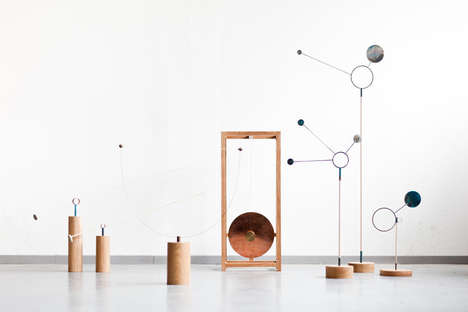 Air Quality-Monitoring Sculptures - These Fabricated Objects Help to Measure Atmospheric Conditions
