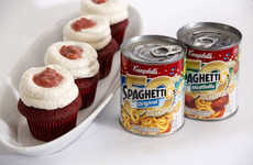 These Red Velvet Cupcakes Celebrate SpeghettiOs' 50th Anniversary