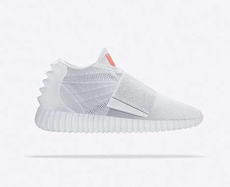Brand-Fusing Sneakers
