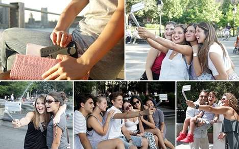 Selfie-Stick Phone Cases - The 'SNAPSTYK' is Both a Selfie Stick and a Phone Case