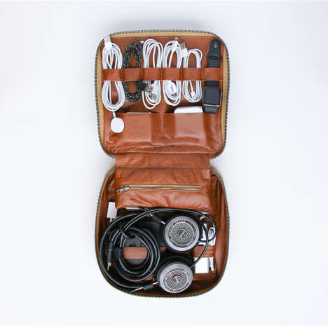 Organized Tech Bags - This Tech Dopp Kit Lets You Keep All Your Wires Managed and Neat