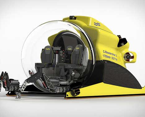 Passenger-Ready Submarine Explorers