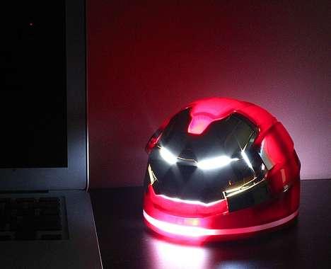 Superhero Desk Lamps