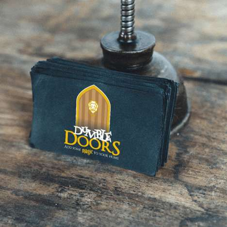 Fantasy Character Business Cards - This Art Project Reimagines Dumbledore as the Dumbledoor Company
