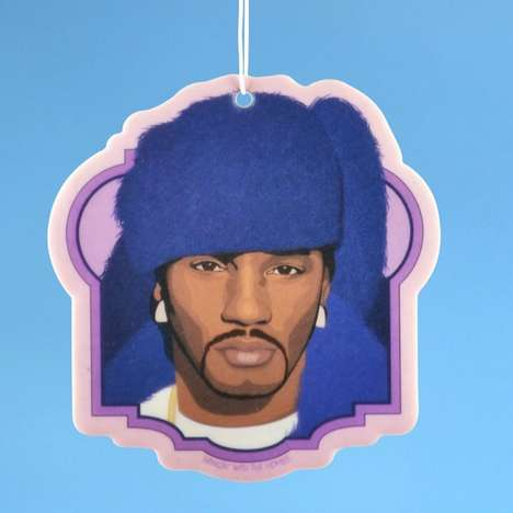 Rapper-Inspired Air Fresheners - This Cam'ron Car Accessory Fills Your Car with a Sweet Grape Scent