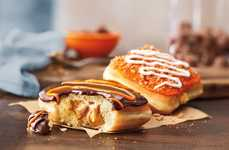 Cheesy Pumpkin Donuts - Dunkin' Donuts is Celebrating Fall with a Pumpkin Cheesecake Donut Treat
