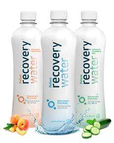 Hydrating All-Natural Beverages - 'Recovery Water' Refreshes While Reducing Muscle Damage & Fatigue