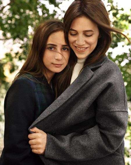 Mother-Daughter Lookbooks - This Shoot Stars Charlotte Gainsbourg and Her Daughter Alice Attal