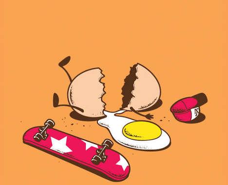 Imaginative Food Comics