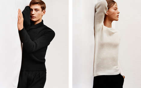 Understated Knit Apparel - This Uniqlo Collaboration with Christophe Lemaire Favors Elegant Basics