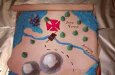 Topographic Pirate Cakes