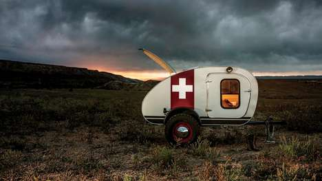 Compact Camping Trailers - The 'Vintage Overland' Trailer Allows Campers to Live Deep Within Nature