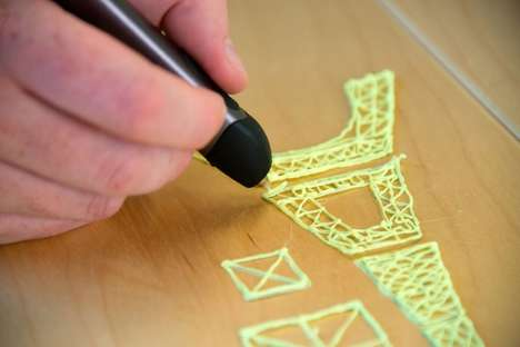 3D Doodle Pens - The New Sleeker 3Doodler 2.0 Device Offers More Precision at a Lower Cost