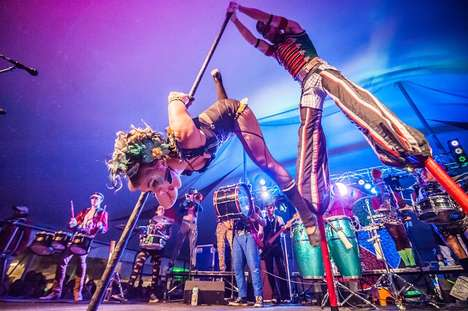Circus-Themed Beer Festivals - This Whimsical Event Combines Cider, Live Music and Circus Acts