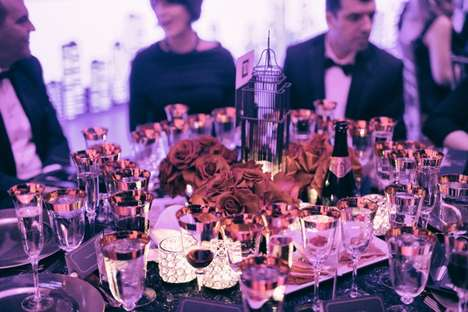 Nostalgic Fundraising Galas - This Luxurious Event Channeled the Style and Elegance of the 1950s