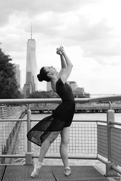 Refined Ballerina Photography - The 'Stage Street' Series Used New York City as Its Backdrop
